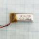 Аккумулятор (АКБ) универсальный - 3.7V 200mAh 25x10мм