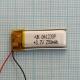 Аккумулятор (АКБ) универсальный - 30x12мм - 3.7V - 200mAh