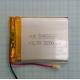 Аккумулятор (АКБ) универсальный - 55x65мм - 3.7V - 2200mAh