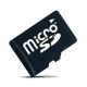 Карта памяти (флешка) MicroSD на 32Gb (10 class) + адаптер