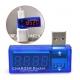 "USB-тестер ""CHARGER Doctor"" (вольтметр + амперметр) синий"