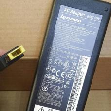 Блок питания (зарядное устройство) для ноутбуков Lenovo - 20V, 3.25A, штекер прямоугольный (ADP-65FD B) без сетевого кабеля