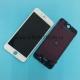 Дисплей для iPhone 6 Plus + тачскрин белый с рамкой