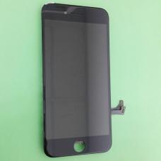 Дисплей Apple iPhone 7 + тачскрин (сенсорное стекло) черный в рамке (AAA, copy LCD)