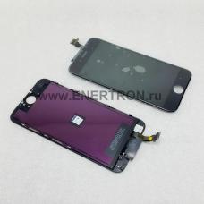 Дисплей Apple iPhone 6 (A1549, A1586, A1589) + тачскрин (сенсорное стекло) - ЧЁРНЫЙ модуль