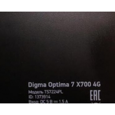 Тачскрин Digma Optima 7 X700 4G ts7224pl XHSNM0710102B V0 8917 7