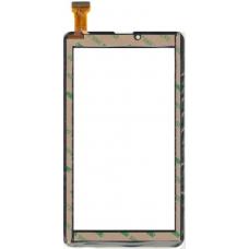 Тачскрин (сенсорное стекло) 7.0 BQ Mobile 7021G (P/N: FX-136-V1.0) - 184x111мм - черный