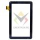 "Тачскрин (сенсорное стекло) 10.1"" Oysters T12 3G (P/N: HK10DR2438 V01) черный"