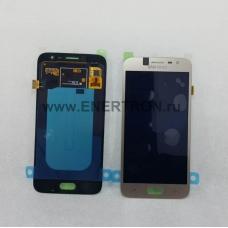 Дисплей Samsung J250 Galaxy J2 (2018) + тачскрин (сенсорное стекло) - золотистый модуль (GOLD) GH97-21339D - Оригинал