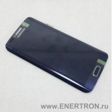 Дисплей с тачскрином Samsung SM-G925F Galaxy S6 Edge (Черный) Оригинал GH97-17162A
