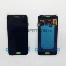 Дисплей Samsung J250 Galaxy J2 (2018) + тачскрин (сенсорное стекло) - Черный модуль (BLACK) GH97-21339A - Оригинал
