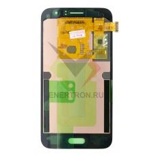 Дисплей Samsung SM-J120F/DS Galaxy J1 (2016) + тачскрин (сенсорное стекло) - золотистый модуль (GOLD) (P/N: GH97-18224B) - Оригинал