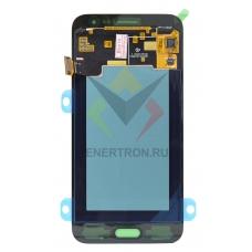 Дисплей Samsung SM-J320F/DS Galaxy J3 (2016) + тачскрин (сенсорное стекло) - черный модуль (BLACK) (GH97-18414c) - Оригинал