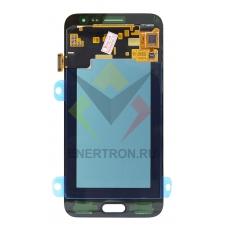 Дисплей Samsung SM-J320F/DS Galaxy J3 (2016) - тачскрин (сенсорное стекло) - ЗОЛОТИСТЫЙ модуль (P/N: GH97-18414b) - Оригинал