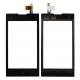 Тачскрин (сенсорное стекло) ZTE V815W / MTS (МТС) Smart Start / Beeline (Билайн) Smart 3 (черный)